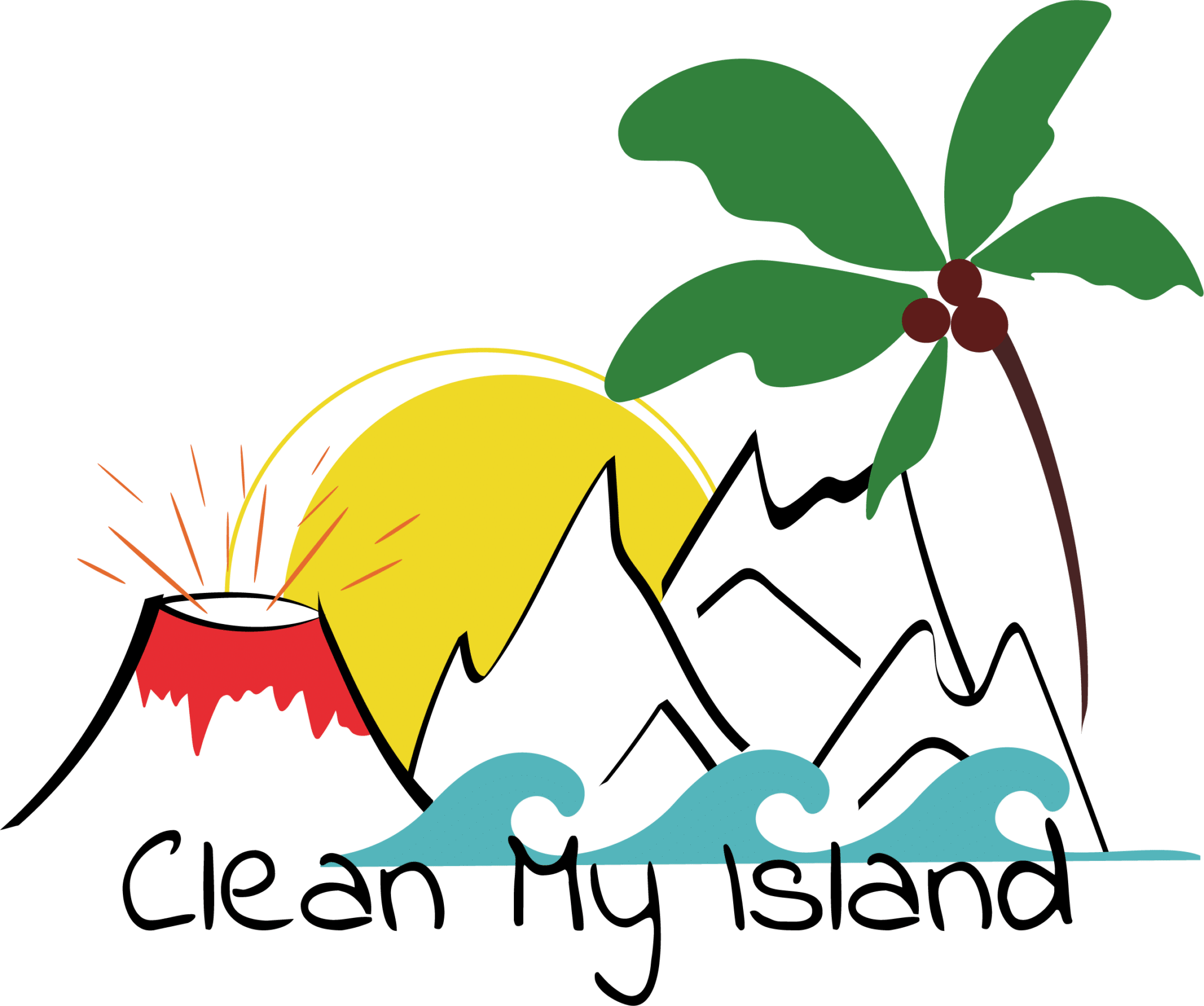 Logo association cleanmyisland